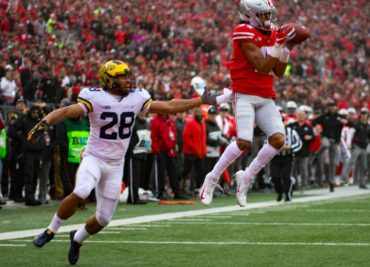Chris Olave Ohio State Football Buckeyes Michigan