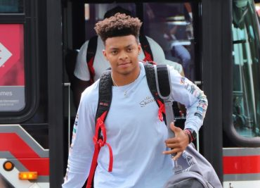 Ohio State Buckeyes football quarterback Justin Fields