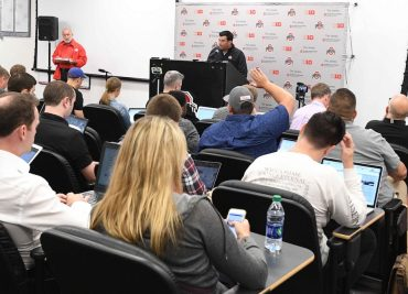 Ohio State football coach Ryan Day press conference