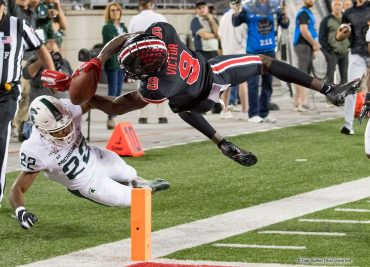 Ohio State football Binjimen Victor touchdown