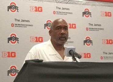 Ohio State director of athletics Gene Smith