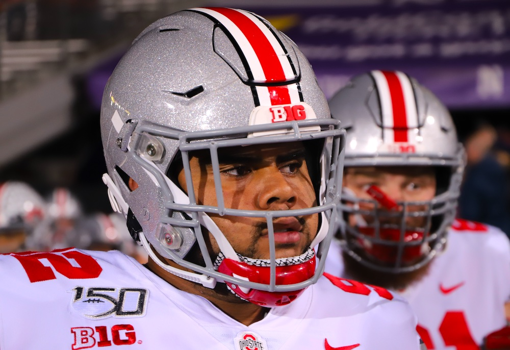 Ohio State DT Haskell Garrett in stable condition after being shot