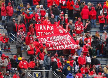 Ohio State fans Coach Jim Harbaugh Forever