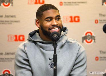 Ohio State defensive end Jonathon Cooper