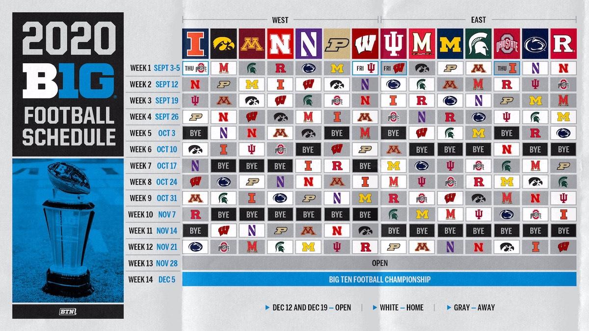 Big Ten Announces League Schedule | The-Ozone