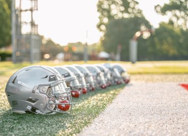 Ohio State football practice helmets