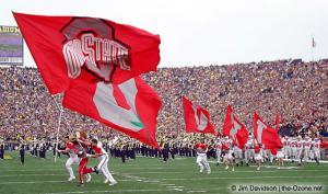 011 Brutus Cheerleaders Ohio State Michigan 2003 The Game football