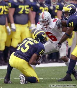 012 Tyler Everett Ohio State Michigan 2003 The Game football