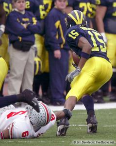 013 Tyler Everett Ohio State Michigan 2003 The Game football
