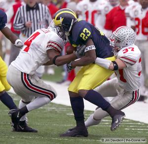 014 Dustin Fox Will Allen Ohio State Michigan 2003 The Game football