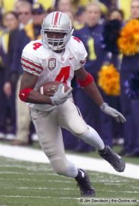 015 Santonio Holmes Ohio State Michigan 2003 The Game football
