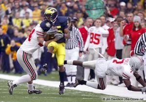 020 Chris Gamble Robert Reynolds Ohio State Michigan 2003 The Game football