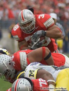 039 Brandon Joe Ohio State Michigan 2004 The Game football