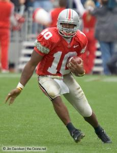 048 Troy Smith Ohio State Michigan 2004 The Game football