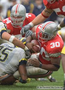 060 Lydell Ross Ohio State Michigan 2004 The Game football