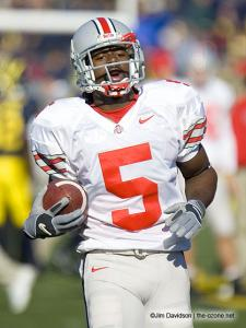 011 Albert Dukes pregame Ohio State Michigan 2005 The Game football