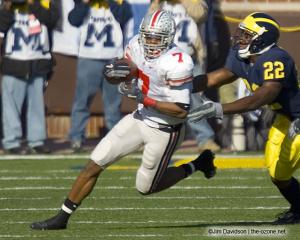 018 Ted Ginn Ohio State Michigan 2005 The Game football