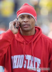 002 Eddie George Ohio State Michigan 2007 The Game football