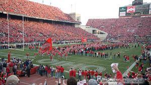 019 Pregame Ohio State Michigan 2007 The Game football