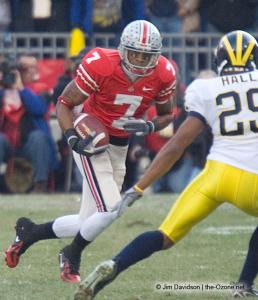 022 Ted Ginn Ohio State Michigan 2007 The Game football