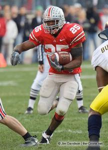 025 Antonio Pittman Ohio State Michigan 2007 The Game football
