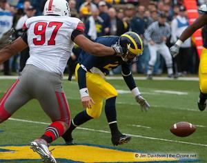 019 Cameron Heyward Tate Forcier Ohio State Michigan 2009 football