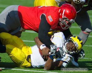 025 Dexter Larrimore Jim Tressel Ohio State football Michigan 2010
