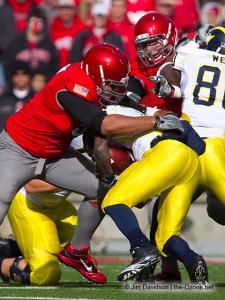 029 Cameron Heyward Ohio State football Michigan 2010