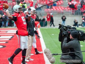 002 Braxton Miller Pregame Ohio State Michigan 2012