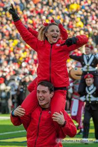 028 Cheerleaders Ohio State Michigan 2013