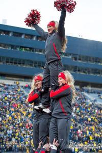 004 Cheerleaders Ohio State Michigan 2015