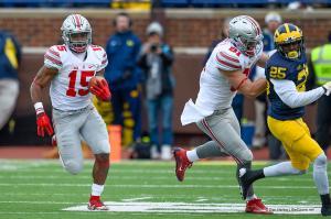 026 Nick Vannett Ezekiel Elliott Ohio State Michigan 2015