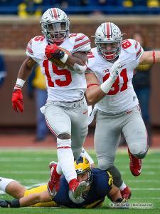 028 Nick Vannett Ezekiel Elliott Ohio State Michigan 2015