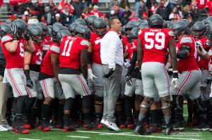 010 Urban Meyer pregame Ohio State Michigan 2016