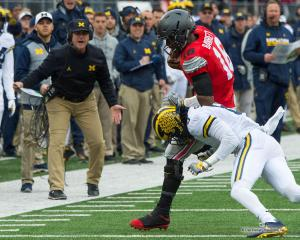 030 Jim Harbaugh JT Barrett Ohio State Michigan 2016