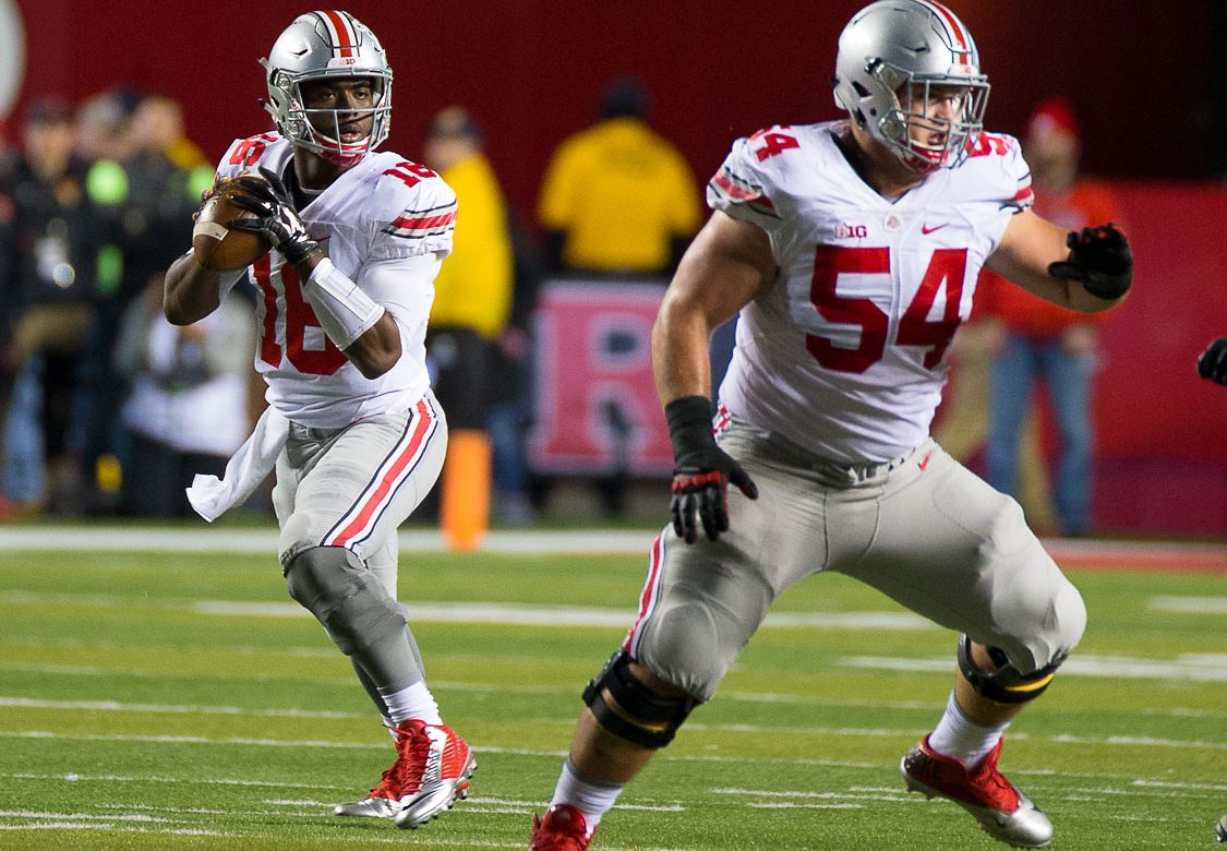 Billy Price and J.T. Barrett Ohio State Football Ohio State Buckeyes