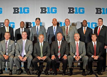 B1G Media Day Coaches 2016