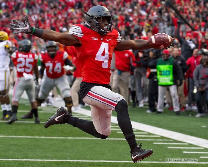 Ohio State football Curtis Samuel Touchdown Against Michigan 2016