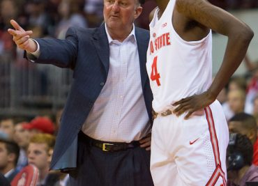 Derek Funderburk and Thad Matta