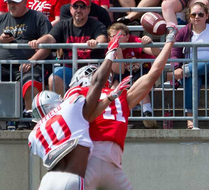 Kendall Sheffield Ohio State Buckeyes Spring Game