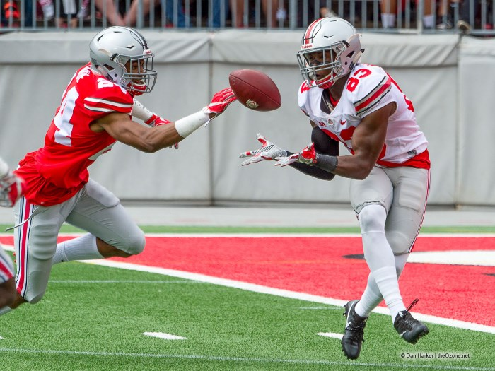 Buckeye receivers like Terry McLaurin have plenty to prove