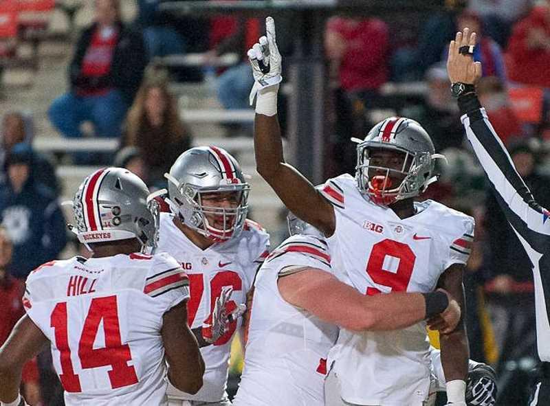 Binjimen Victor Ohio State Buckeyes Wide Receiver Ohio State Football