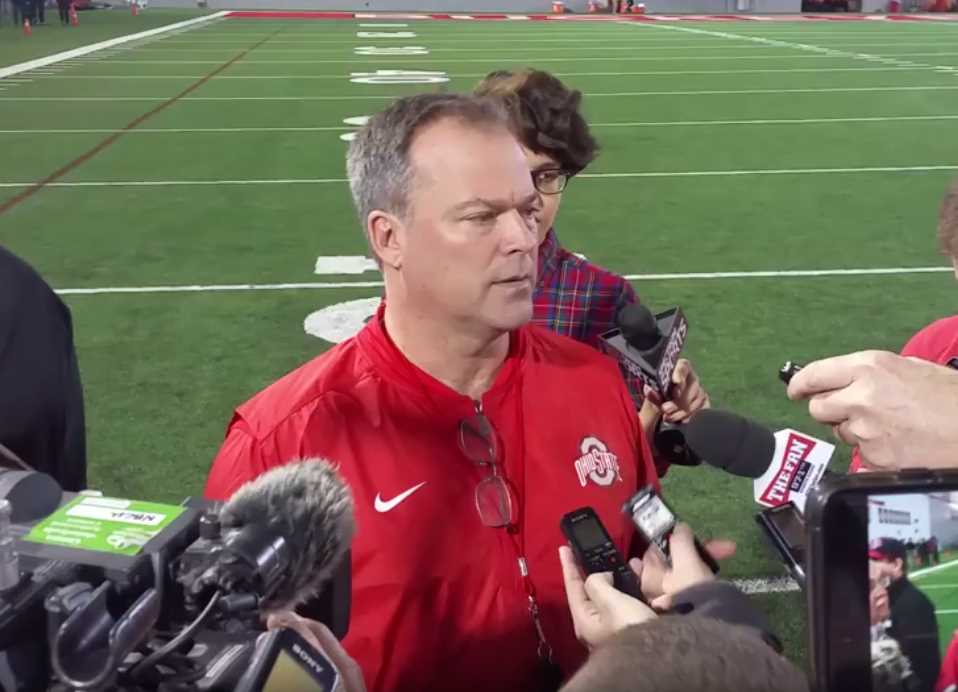 Billy Davis Ohio State Practice