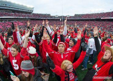 Ohio State Buckeyes fans