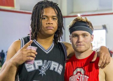 Chase Young and Tate Martell