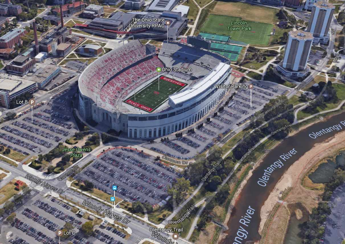 Google Maps Ohio Stadium | The-Ozone