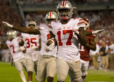 Jerome Baker TD Ohio State Football