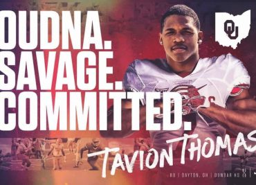 Tavion Thomas Oklahoma Sooners Ohio State Buckeyes
