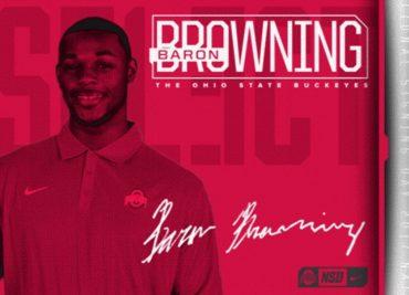 Baron Browning LOI Ohio State Football Buckeye Football