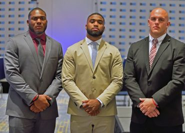 Ohio State Football Chris Worley Billy Price Tyquan Lewis